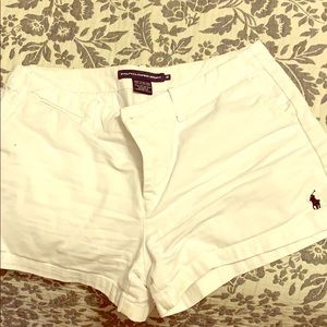 White- RALPH LAUREN shorts
